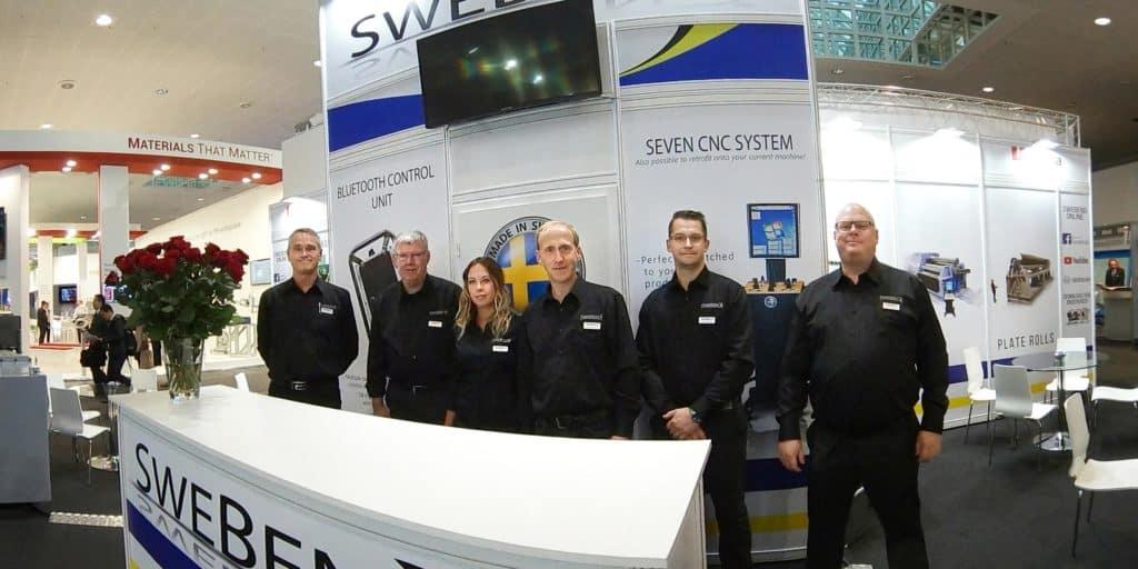 SweBend EuroBlech 2018 Team