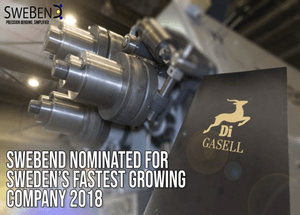 SweBend nomination Gasell