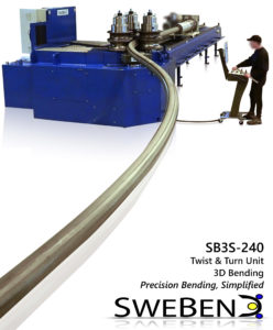 SweBend SB3S-240 roller coaster production - section bending -4