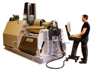 PB4-12-4 CNC by SweBend Plate Rolls