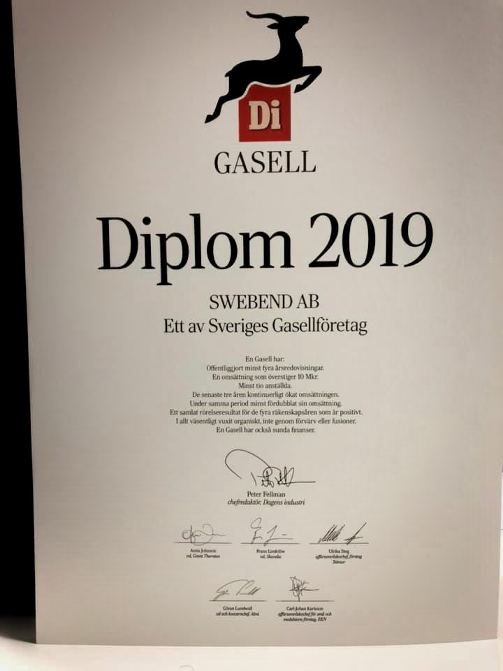 SweBend Celebrating DI Gasell 2019 - 3