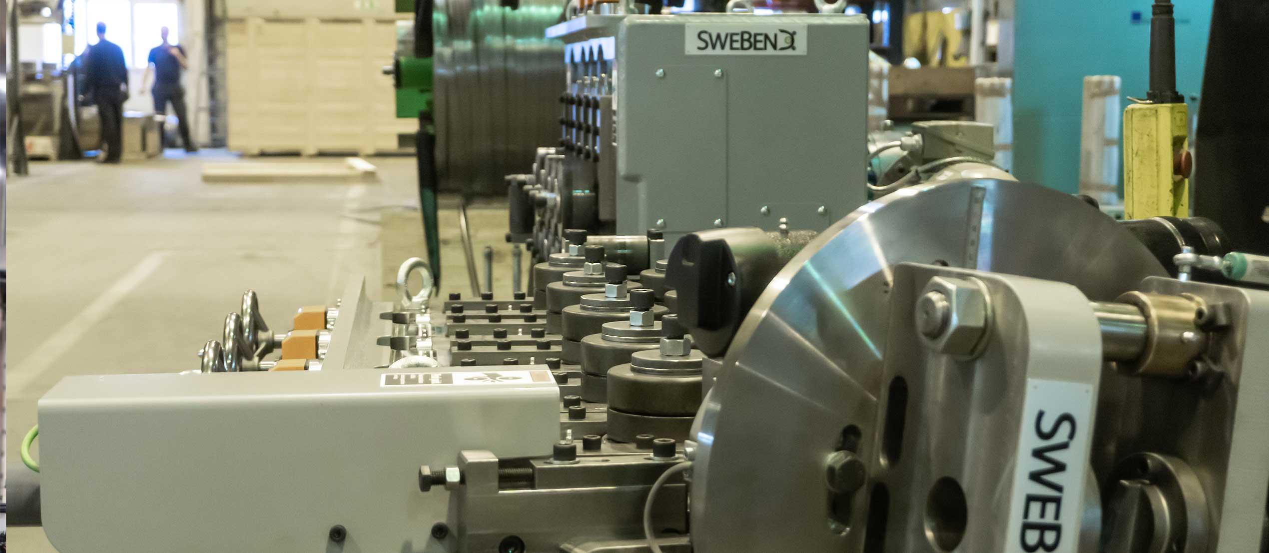 Steel Forming Machine