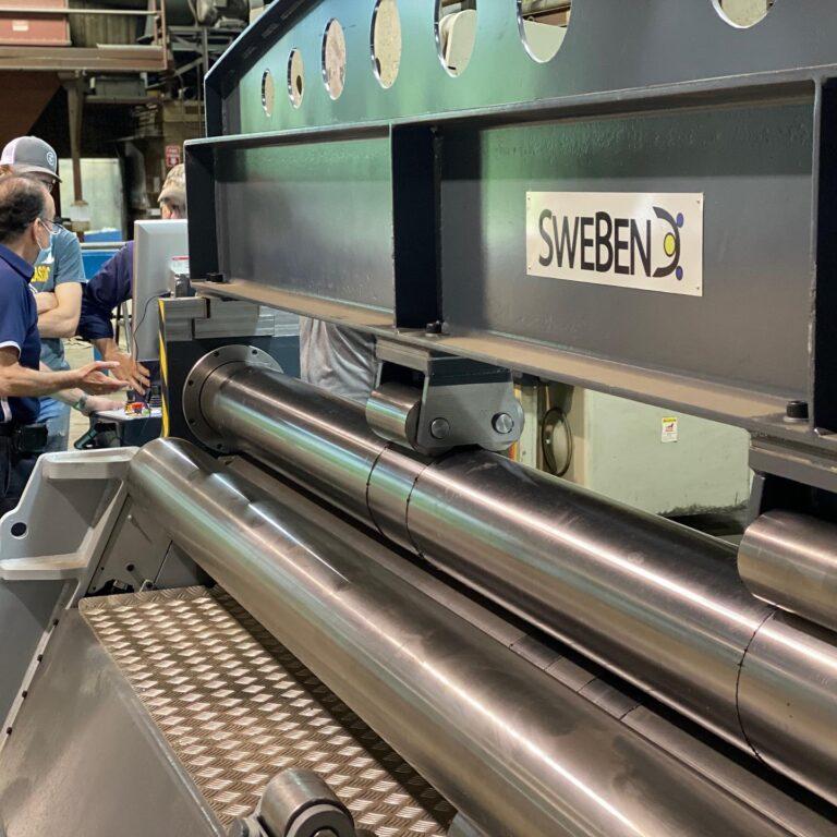 SweBend plate roll - reinforced