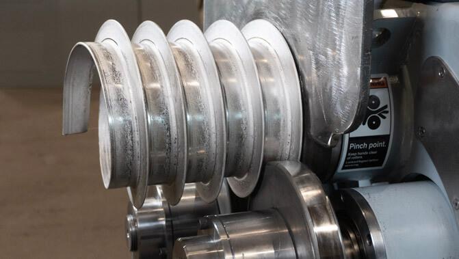Angle Bar Spiralling
