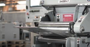 Quick Forming 3 Roll Plate Bending Machine by SweBend
