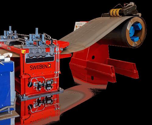 SweBend Plate Straightener Machine